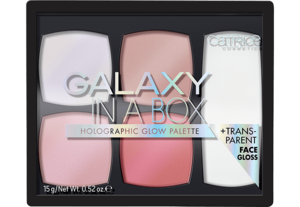 Galaxy In A Box Holographic Glow Palette 010 Out of Space