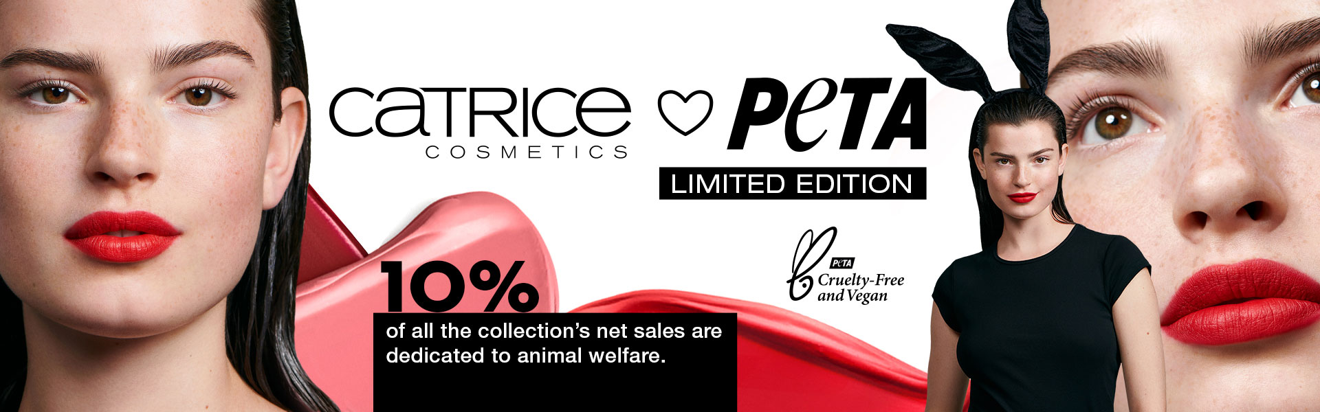 "Limited Edition ""CATRICE loves PETA"""